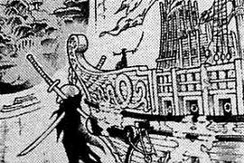 Vander Decken en el manga