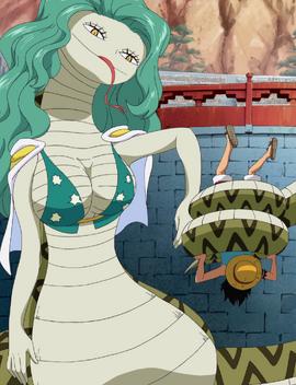 Hebi Hebi no Mi, modèle Anaconda Forme Hybride Anime Infobox.png