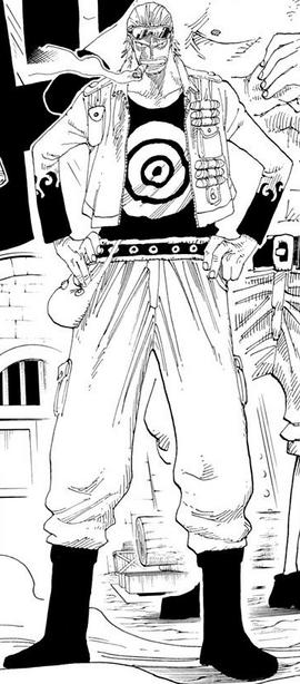 Paulie before the timeskip in the manga