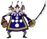 Baskerville Anime Concept Art