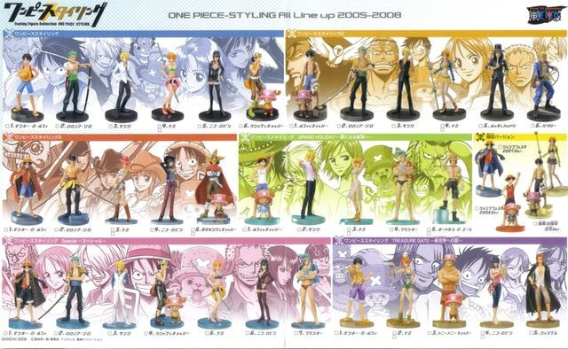 One Piece Styling Figure 2005-2008