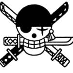 Zoro's Post Timeskip Jolly Roger.png