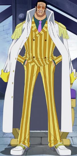 Borsalino in the anime