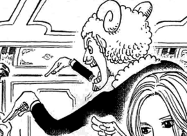 Merry after the timeskip in the manga