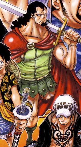Kyros in the manga