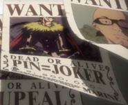 Pin Joker Bounty Poster