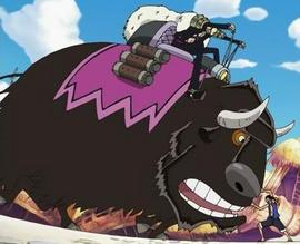 Motobaro en el anime