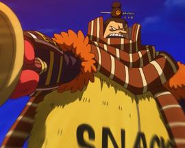 Снэк в аниме