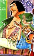 Chaka's Manga Color Scheme