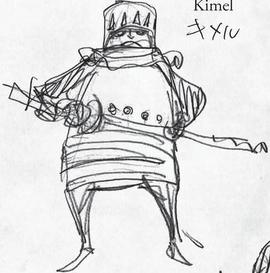 Kimel in the manga
