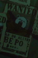 Bepo's Wanted Poster