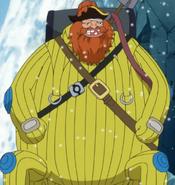 Brownbeard in a Hazmat Suit