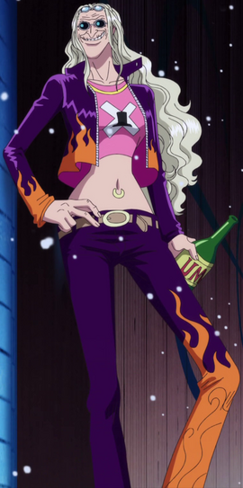 Kureha in the anime