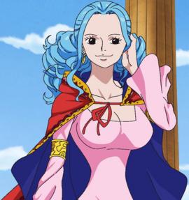 Нефертари Виви в аниме после таймскипа