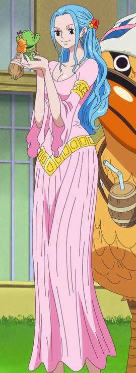 Nefeltari Vivi after the timeskip in the anime