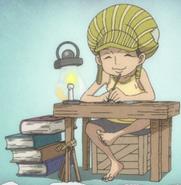 Borsalino as a Child