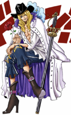 Cavendish in the Digitally Colored Manga