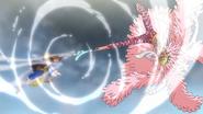 Doflamingo vs Luffy