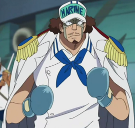 Glove in the anime