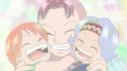 Bell-mère, Nami et Nojiko.png