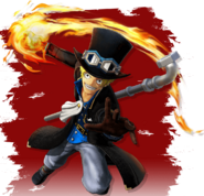 Sabo Pirate Warriors 4