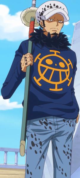 Trafalgar D. Water Law tras el salto temporal en el anime