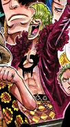 Bartolomeo's Manga Color Scheme