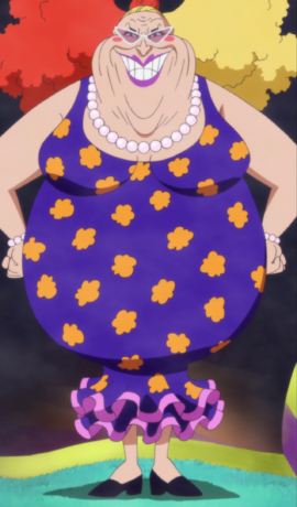 Giolla in the anime