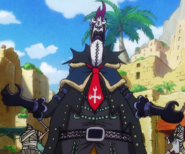 Moria's Wano Country Arc Outfit