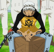 Trafalgar D. Water Law Anime Pre Timeskip Infobox.png