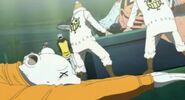 Buggy y piratas heart vs aokiji y kizaru 11