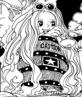 Sarfunkel in the manga
