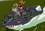 Kerodeek and Keroshot's First Speedboat.png