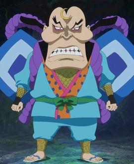 Raizo in the anime