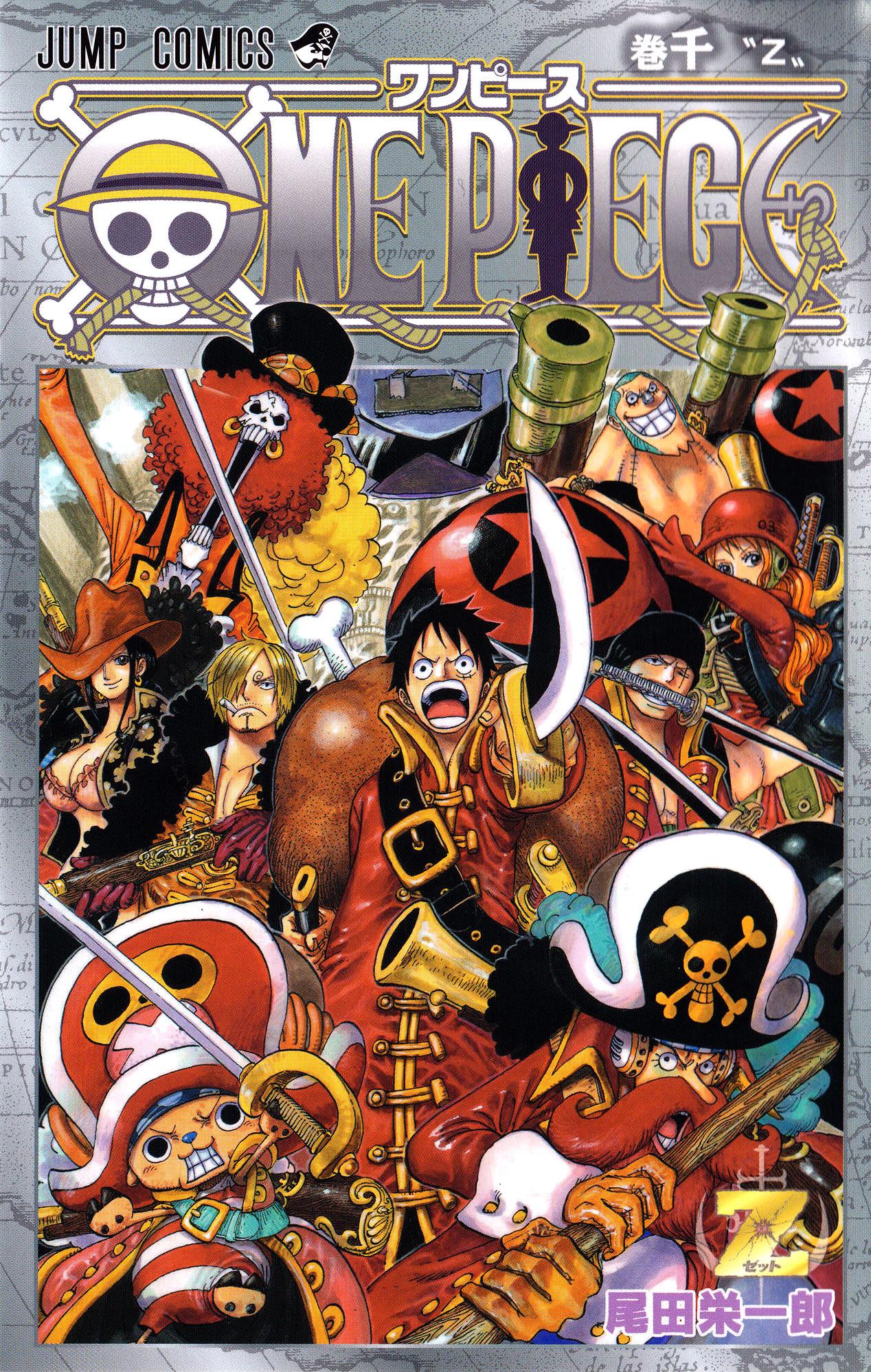 One Piece Volumen 1000