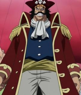 Gol D. Roger in the anime