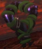 Zielona gwiazda: wąż faraona