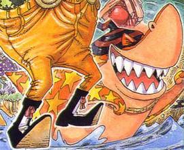 Monda in the manga