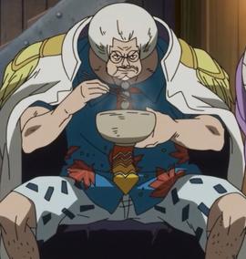 Sengoku depois do timeskip no anime