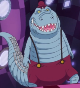 Noble Croc in the anime