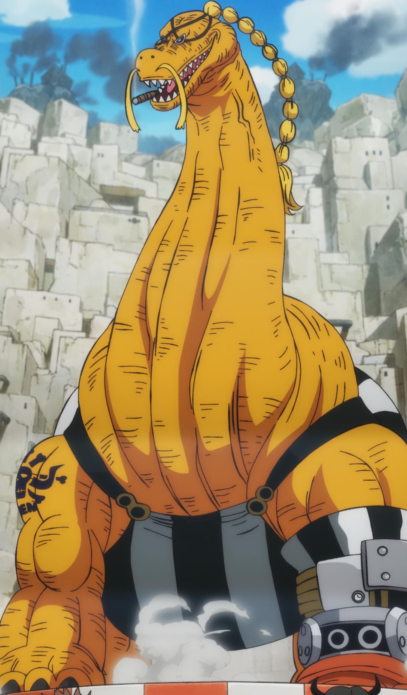 Ryu Ryu no Mi, Modelo: Braquiossauro