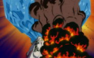 Akainu detiene el Iceberg
