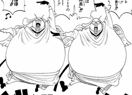 Hotori and Kotori in the manga