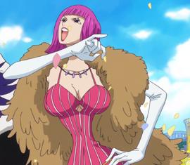 Kinderella before the timeskip in the anime