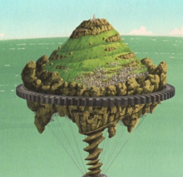 Nakręcana wyspa