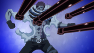 Katakuri evitando ataques