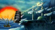 Buggy y piratas heart vs aokiji y kizaru 5