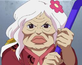 Gloriosa in the anime