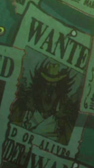 Vander Decken IX's Wanted Poster in Stampede