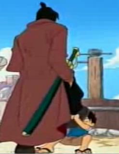 Monkey D. Luffy kontra górscy rozbójnicy